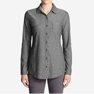 Eddie Bauer Infinity Long-Sleeve Button Shirt